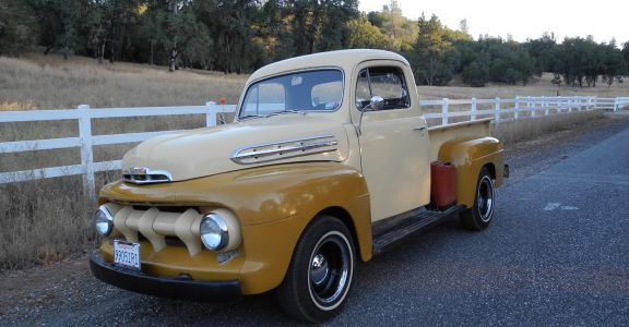 1951 Ford F-1 Pick Up perspective