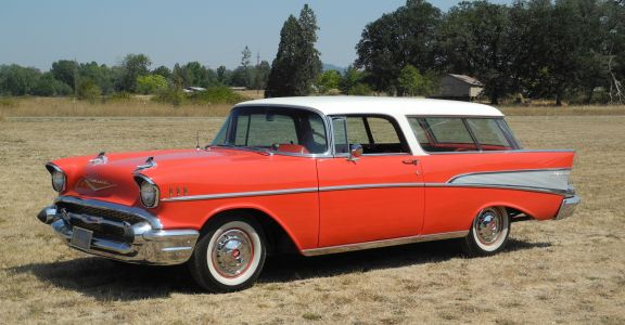 1957 Chevrolet Bel Air Nomad perspective