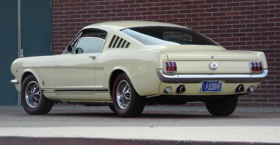 1966 Ford Mustang Fastback perspective